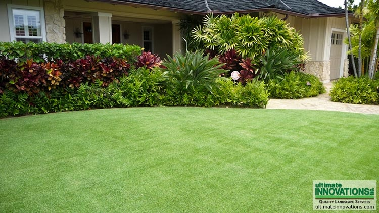 Residential landscaping ultimate innovations inc for Residential landscaping